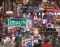 The Crossroads of the World Fine Art Print