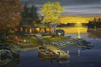 Peaceful Evening Fine Art Print