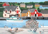Fishermans Cove Fine Art Print