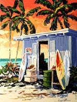 Surf Shop Fine Art Print