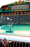 Decorated Bus, Antigua, Guatemala Fine Art Print
