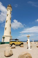 California Lighthouse, Oranjestad, Aruba Fine Art Print