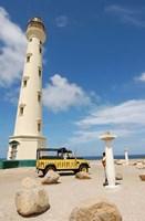 California Lighthouse, Oranjestad, Aruba Fine Art Print