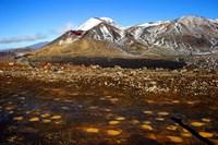 Tongariro NP, New Zealand, Volcanic plateau Fine Art Print