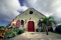 Old Anglican Church, Liberta, Antigua, Caribbean Fine Art Print