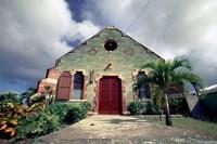 Old Anglican Church, Liberta, Antigua, Caribbean Fine Art Print