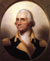 George Washington (digitally restored) Fine Art Print