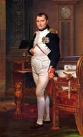 Napoleon Bonaparte (digitally restored) Fine Art Print