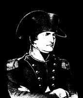 Napoleon Bonaparte in uniform Fine Art Print