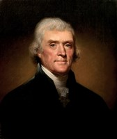 President Thomas Jefferson Fine Art Print