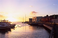 Sunset, Bridgetown, Barbados, Caribbean Fine Art Print