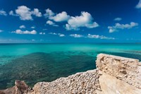 Bahamas, Eleuthera Island, Glass Window Bridge Fine Art Print