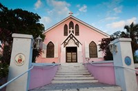 Bahamas, Eleuthera, St Johns Anglican Church Fine Art Print