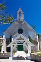 Bahamas, Eleuthera, St Patrick's Anglican Church Fine Art Print