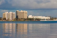 Bahamas, New Providence, Nassau, Resort hotels Fine Art Print