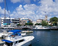 Careenage, Bridgetown, Barbados, Caribbean Fine Art Print