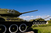 Tanks, Museum of Playa Giron war, Bay of Pigs Cuba Fine Art Print