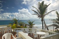 View of Soup Bowl Beach, Bathsheba, Barbados, Caribbean Fine Art Print
