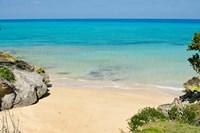 Serene Drew's Bay Beach, Bermuda Fine Art Print