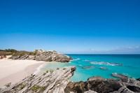 Stonehole Bay Beach, Bermuda Fine Art Print