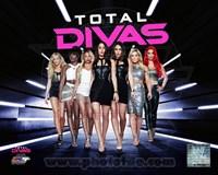 WWE Total Divas Fine Art Print