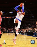 Carmelo Anthony shooting 2014-15 Fine Art Print
