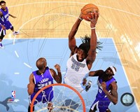 Kenneth Faried 2014-15 Action Fine Art Print