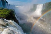 Brazil, Foz do Iguacu Waterfall Fine Art Print