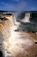 Iguacu Falls, Brazil (vertical) Fine Art Print