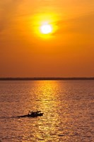 Brazil, Amazon River, Fishermen Fine Art Print