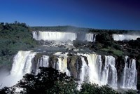 Foz Do Iguacu, Iguacu National Park, Parana, Brazil Fine Art Print
