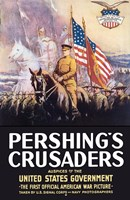 Pershing's Crusaders Fine Art Print