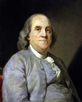 Benjamin Franklin Fine Art Print