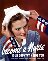 Become a Nurse Fine Art Print
