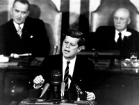 President John F Kennedy Fine Art Print