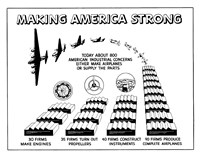 Making America Strong - Airplanes Fine Art Print