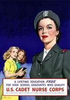 U.S. Cadet Nurse Corps Fine Art Print