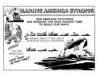 Making America Strong - Shipyards Fine Art Print