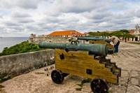 Fortress de San Carlos de la Cabana, Havana, Cuba Fine Art Print