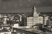 Cuba, Havana, Edificio Bacardi building Fine Art Print
