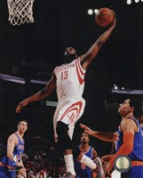 James Harden 2014-15 Action Fine Art Print