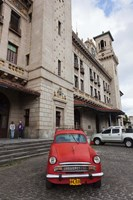 Cuba, Havana, Central Train Station Fine Art Print