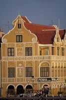 Penha and Sons Building, Willemstad, Curacao, Caribbean Fine Art Print