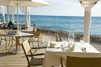 Viva Cafe Restaurant, Viva Wyndham Dominicus Beach, Bayahibe, Dominican Republic Fine Art Print