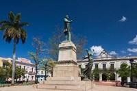 Cuba, Matanzas, Parque Libertad, Monument Fine Art Print