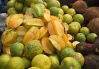 Star Fruit and Citrus Fruits, Grenada, Caribbean Fine Art Print