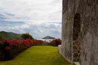 Ruins at Chateau Dubuc, Caravelle Peninsula, Martinique, French Antilles, West Indies Fine Art Print