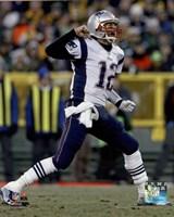 Tom Brady 2014 victory Fine Art Print