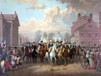George Washington and His Men Fine Art Print