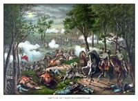 The Battle of Chancellorsville Fine Art Print